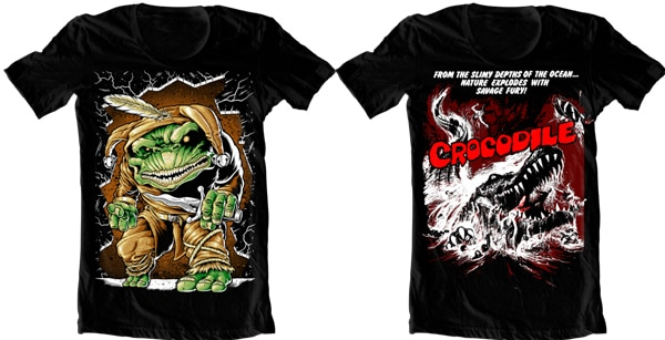 Rotten Cotton Reveals 11 New T-Shirts Including Cannibal Holocaust, Conan, and Vincent Price