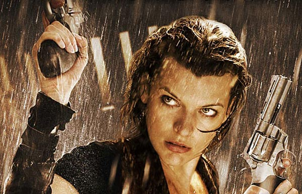 Milla Jovovich Wishes You a Scary Holiday from the Set of Resident Evil: Retribution