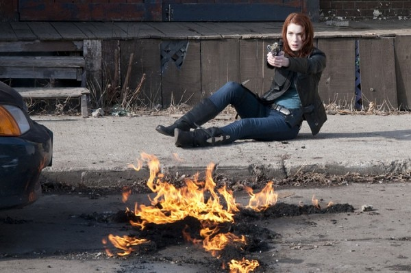 First Look at Felicia Day in Red