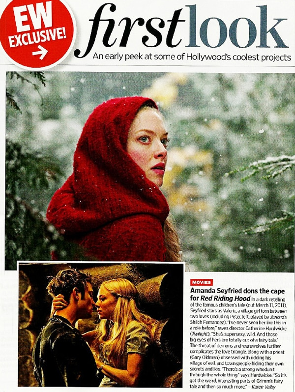 First Official Stills from Red Riding Hood