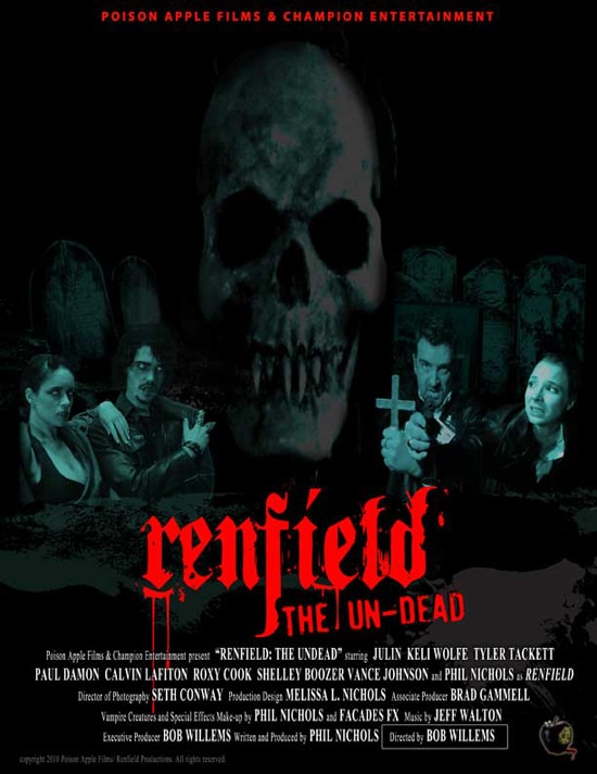 New Concept Posters for Renfield: The Undead