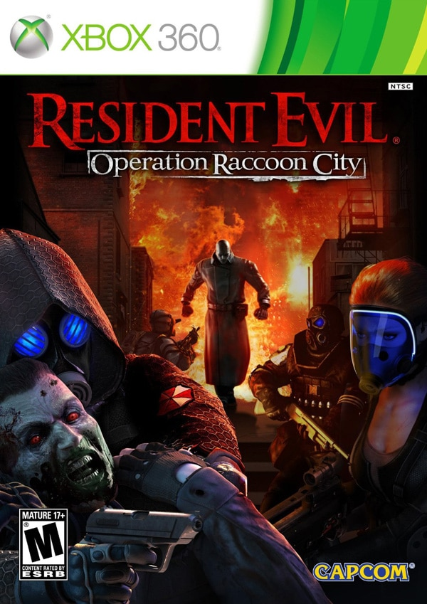 Meet the Six-Member US Spec Ops Team in this New Resident Evil: Operation Raccoon City Triple Impact Trailer