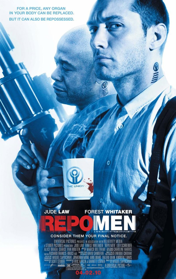 Repo Men Review! Recalling All Organs!
