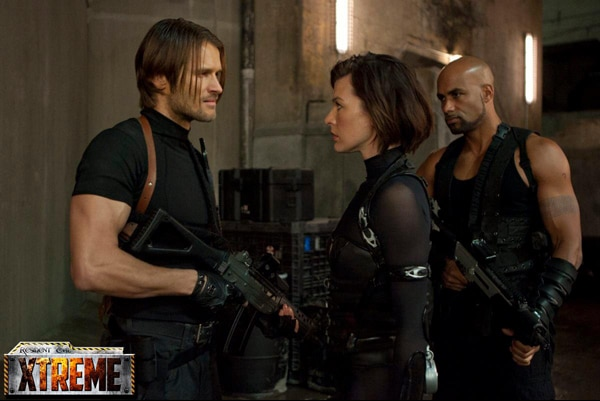 New Resident Evil Stills Show off the Cast!