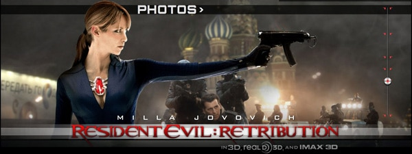 Are Those Actual Zombies on the Resident Evil: Retribution Website?