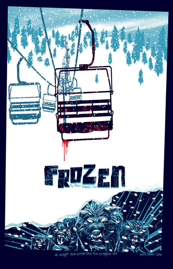 Buy Yourself Some Cool Frozen and House of the Devil Retro Posters