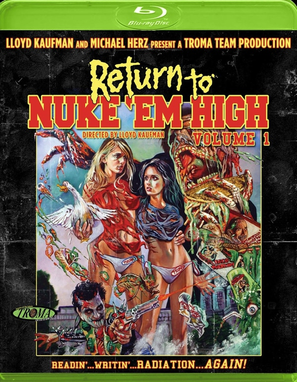 return to nuke em high - Return to Nuke 'Em High Starts Glowing at Home