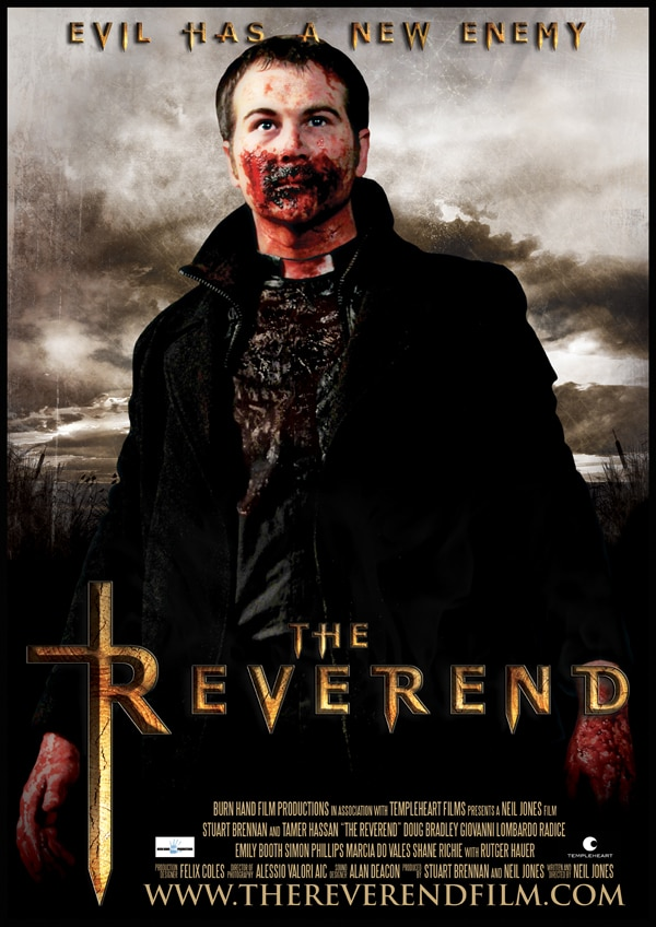 Your Thirst Quenched for the Latest One-Sheet for The Reverend