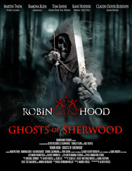 Kane Hodder and Tom Savini Clash with Robin Hood: Ghosts of Sherwood
