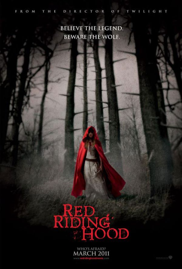 Trailer and One-Sheet Debut - Red Riding Hood