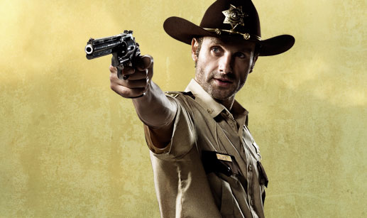 rick - The Walking Dead Scores Massive Ratings / Andrew Lincoln Speaks!