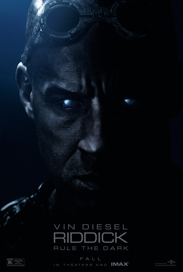 riddick poster - Get Ambushed by the First Clip from Riddick