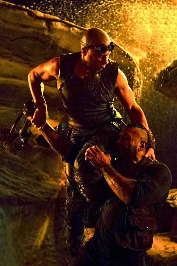 Riddick and Former WWE Superstar Batista Square-Off in New Image
