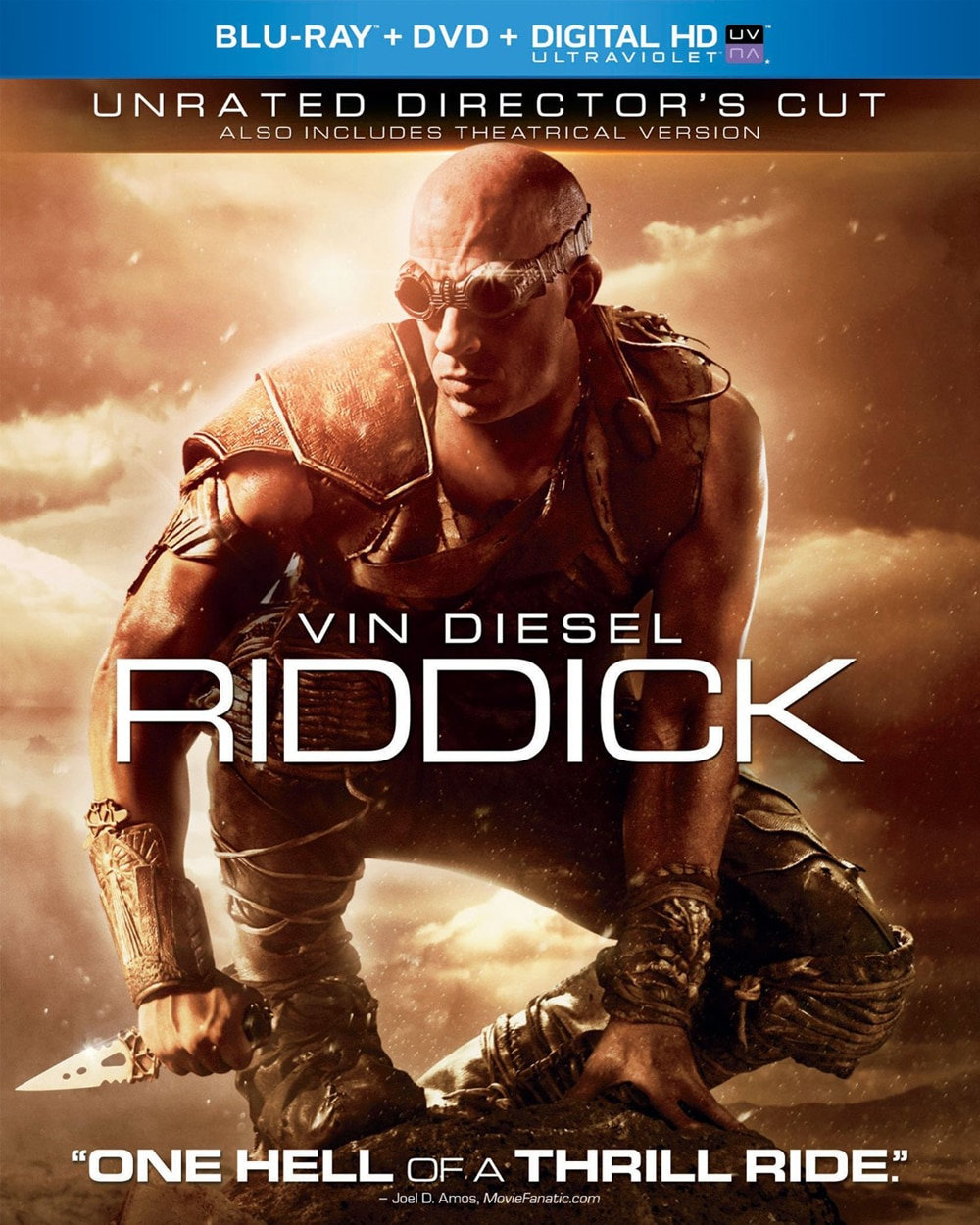 Riddick: Unrated Director's Cut (Blu-ray / DVD)