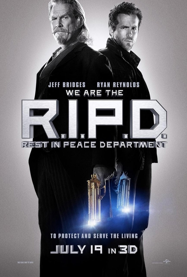 riped poster - R.I.P.D One-Sheet Takes Aim