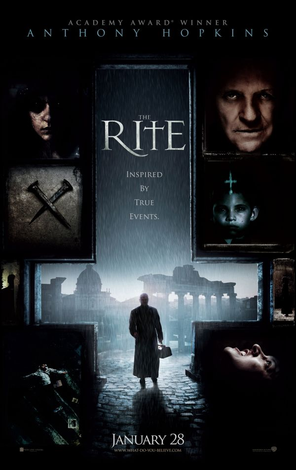 UK Trailer Debut - Anthony Hopkins vs. Demons in The Rite
