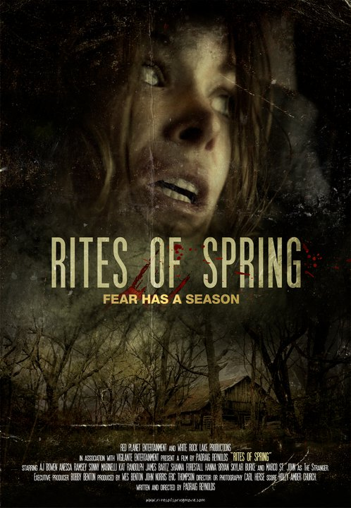 New Artwork for Creature Feature Rites of Spring