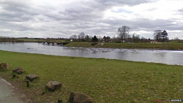river trent - The Seen and The Unseen - Zombie Number Zero Found in Britain? The Plague Begins!