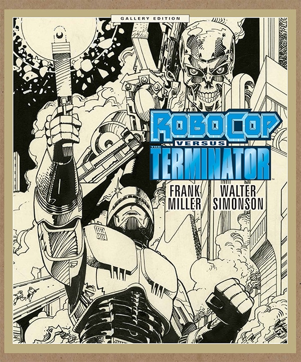 Dark Horse Announces Two New Editions of Classic RoboCop versus The Terminator Series - Hardcover Graphic Novel and Gallery Edition