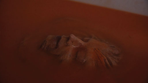 Get Slimy with a Debbie Rochon Floating Tub Face Replica