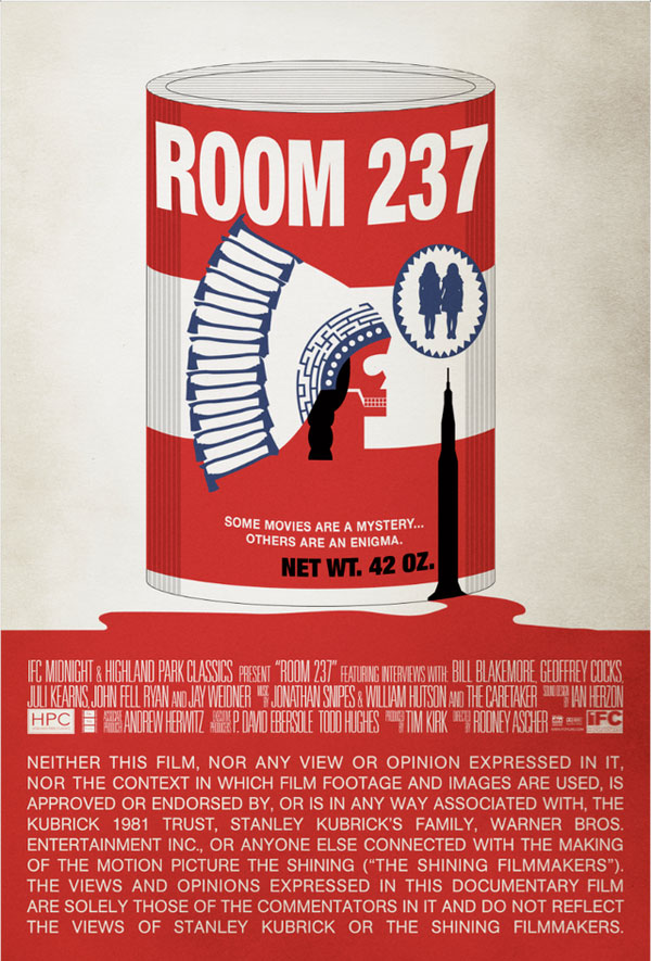 New Poster for Room 237 Comes in a Can