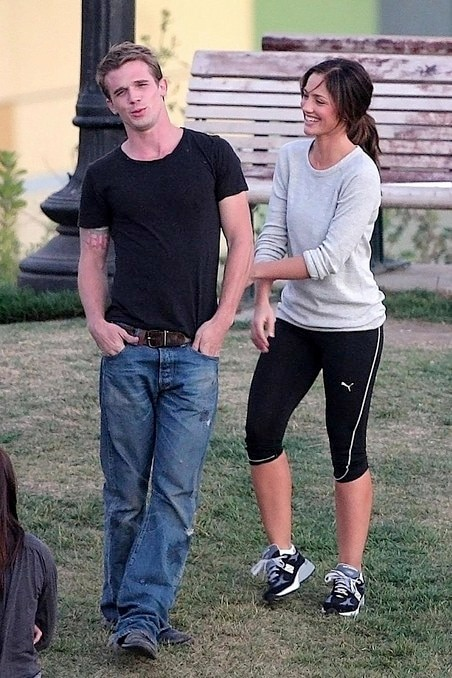On Set Images: The Roommate: Minka Kelly and Cam Gigandet