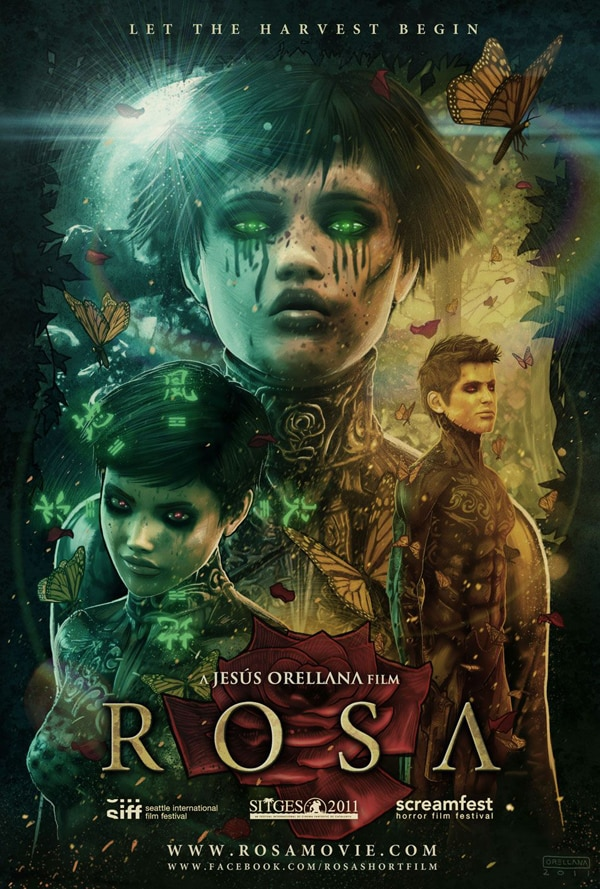 rosa - First Official Images From Rue Morgue's The Last Will and Testament of Rosalind Leigh