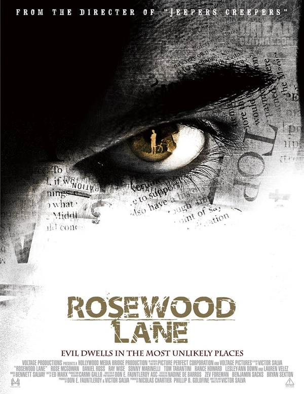 Rose McGowan First to Take a Trip Down Rosewood Lane