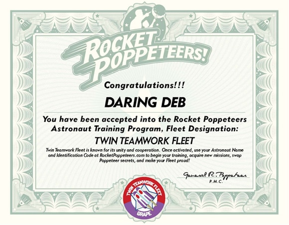 Super 8 Rocket Poppeteers Site Gets an Overhaul; Astronaut Training Acceptance Certificate Received