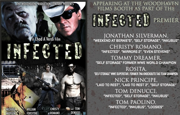 Infected, the Newest Offering from Woodhaven Films, to Hold World Premiere at Rock and Shock
