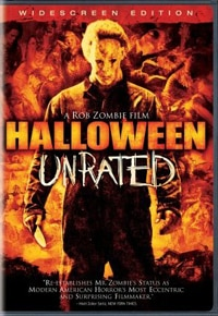Rob Zombie's Halloween Unrated Director's Cut DVD (click for larger image)