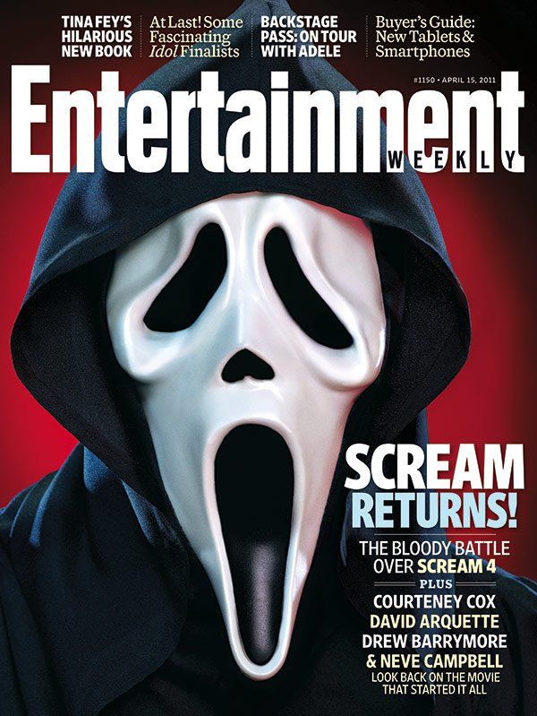 Scream 4 - Kevin Williamson Finally Speaks, New TV Spots, New Cover of Entertainment Weekly