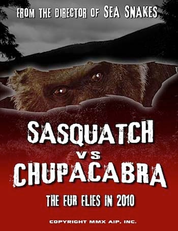Fred Olen Ray Pitting Sasquatch vs. Chupacabra