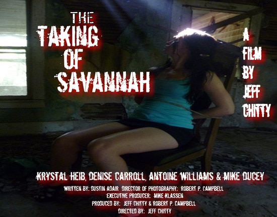 Early Key Art for The Taking of Savannah