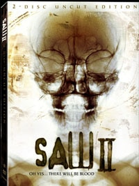 Saw II: Unrated Special Edition DVD (click for larger image)