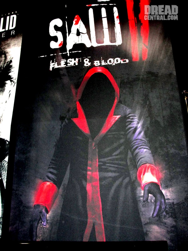 San Diego Comic-Con 2010: Teaser Art Saw II Flesh & Blood (click for larger image)