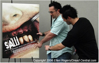 Saw III director Darren Lynn Bousman wants to make sure we all know who the director of Saw III is.