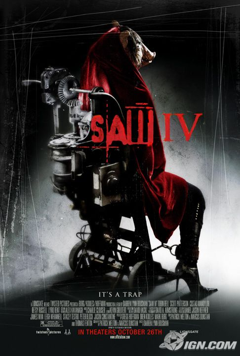 Final Saw IV poster!