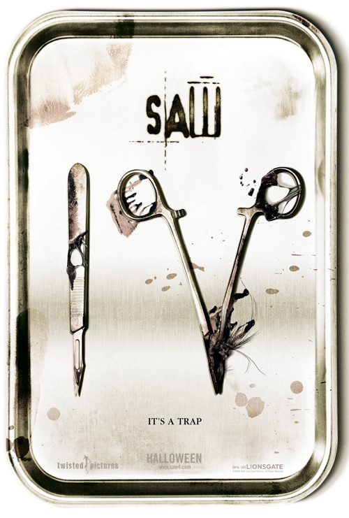 Official Saw IV teaser!