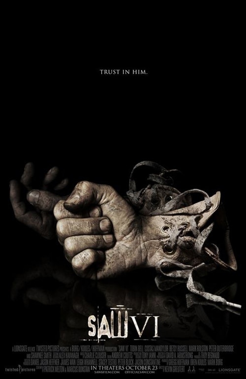Tooling Around with the New Saw VI Poster