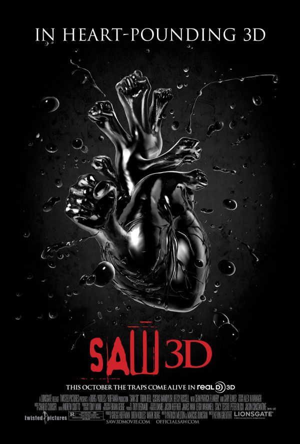Another Look at the Heart Heavy Saw 3D One-Sheet