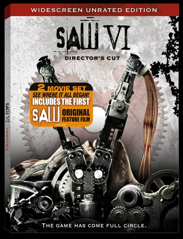 Saw VI DVD and Blu-ray Art and Details