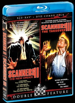 Scanners II: The New Order / Scanners III: The Takeover (Blu-ray)