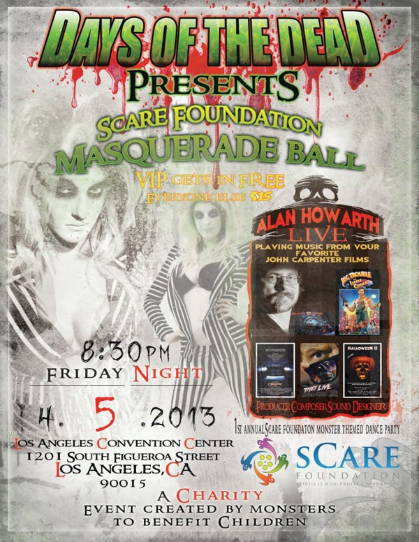 Alan Howarth's First Los Angeles Performance in Five Years will Benefit sCare Foundation, April 5