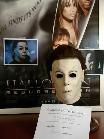 First sCare Charity Auction: Own a Piece of Halloween Franchise History