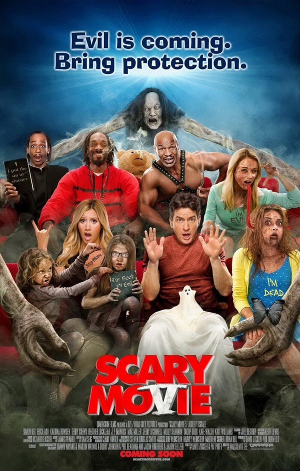 New Trailer And Official Poster Creep Online For Scary Movie 5 Dread Central