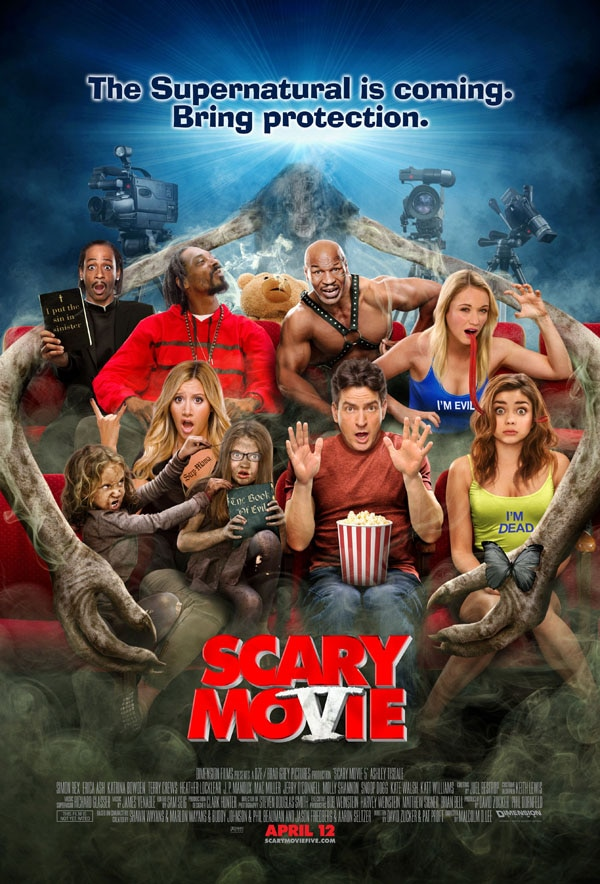 New Scary Movie 5 Poster Circumcises Charlie Sheen and Sanitizes the Rest!