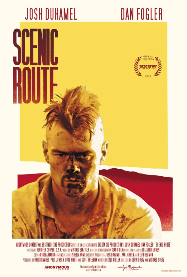 scenic route art - A Second Trailer and Release Info Arrives Via the Scenic Route
