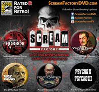 screamfactorybuttons - San Diego Comic-Con 2013: Full Details on Shout! Factory's Screenings, Signings, and More!
