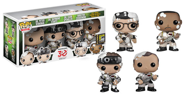 #SDCC14: Funko's First Exclusives Announcement Includes 4 Ghostbusters Items